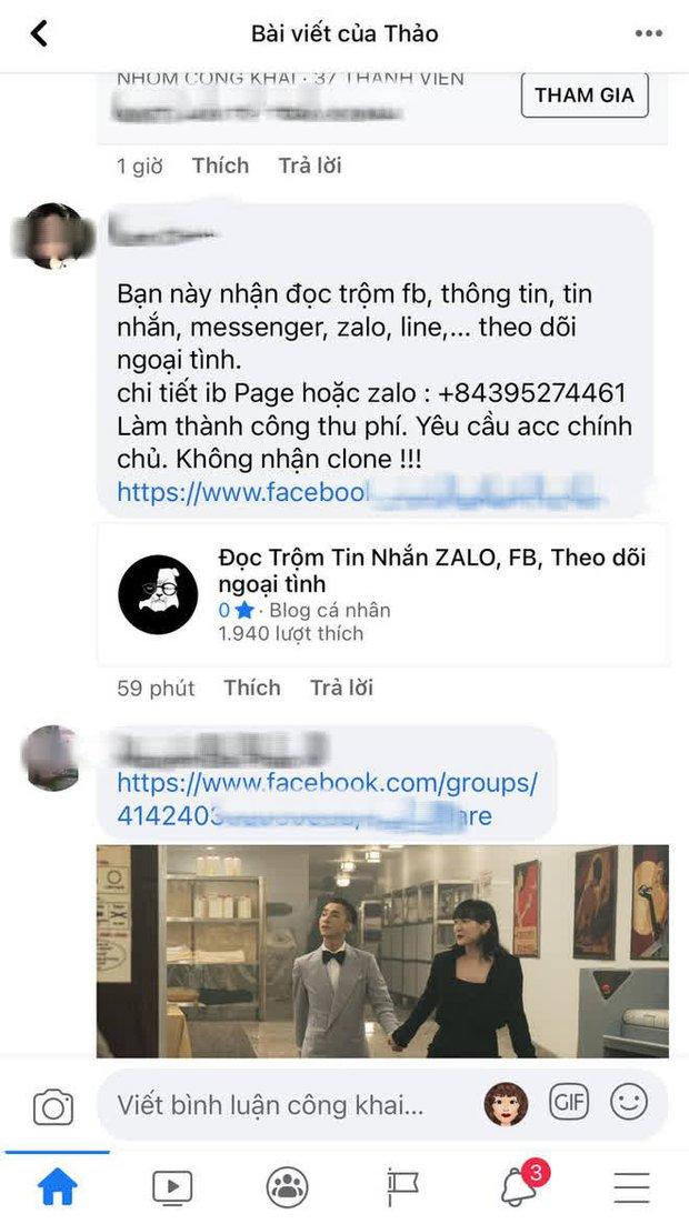 Cảnh báo dịch vụ hack Facebook, Zalo truy tìm trà xanh, xem chừng hành vi vi phạm pháp luật! - Ảnh 2.