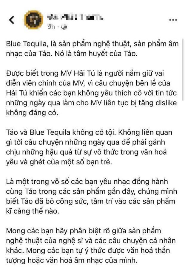 Antifan tràn vào dislike MV của Táo có Hải Tú đóng, dân mạng bức xúc lên tiếng bảo vệ! - Ảnh 4.