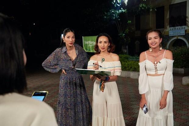 Hoàng Thùy được cả Mâu Thủy - Hương Ly - Khánh Vân vote là thành viên giả trân nhất Vietnam Why Not - Ảnh 4.