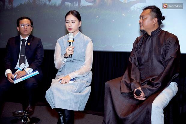 Ngô Thanh Vân tại họp báo Trạng Tí: Studio68 chưa bao giờ bắt tay Phan Thị chèn ép Lê Linh - Ảnh 1.