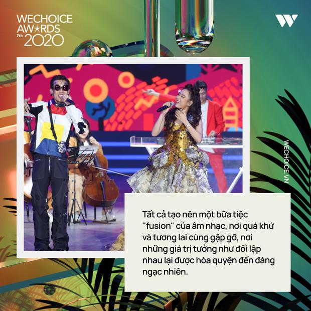 Nhìn lại WeChoice Awards 2020: quá nhiều cảm xúc, những màn kết hợp có 1-0-2, mọi ý tưởng điên rồ và diệu kỳ đều thành hiện thực - Ảnh 11.