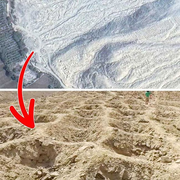 Những hình ảnh bí ẩn, càng tưởng tượng càng khó thở được Google Maps chụp lại - Ảnh 1.