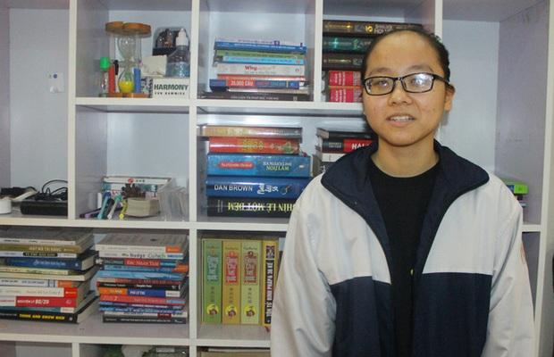 Hà Tĩnh: Nữ sinh khiếm thị giành giải Ba HSG Quốc gia - Ảnh 1.