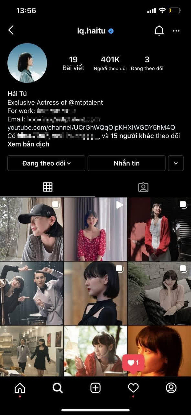 """Sơn Tùng mất 4000 fan Instagram vì nói """"Thương em"""" rồi unfollow, Thiều Bảo Trâm - Hải Tú """"hưởng lợi"""" chóng mặt trên địa hạt MXH - Ảnh 5."""