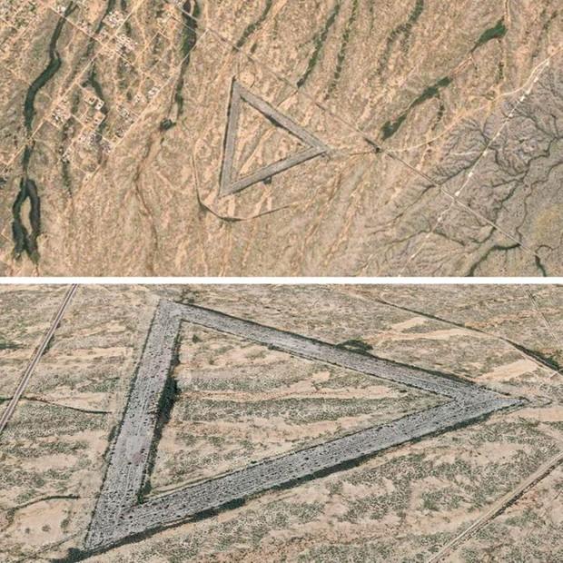 Những hình ảnh bí ẩn, càng tưởng tượng càng khó thở được Google Maps chụp lại - Ảnh 5.