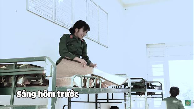 Khánh Vân chuộc lỗi cực dễ thương với Diệu Nhi: Dùng tay không phủi bụi trên giường của đàn chị - Ảnh 7.