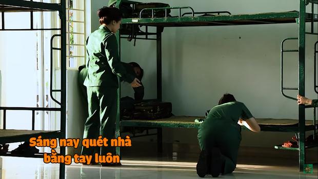 Khánh Vân chuộc lỗi cực dễ thương với Diệu Nhi: Dùng tay không phủi bụi trên giường của đàn chị - Ảnh 8.