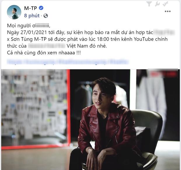 Sơn Tùng M-TP đã có chia sẻ đầu tiên trên MXH giữa drama chia tay Thiều Bảo Trâm - Ảnh 2.