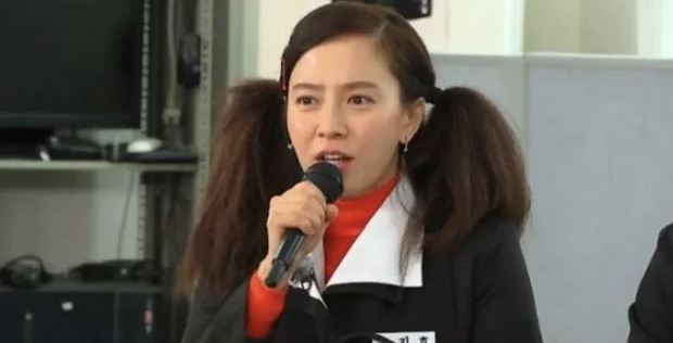 Song Ji Hyo xuyên không hóa nữ sinh thập niên 1980, nhưng lại nhận ý kiến trái chiều vì tạo hình lố - Ảnh 3.