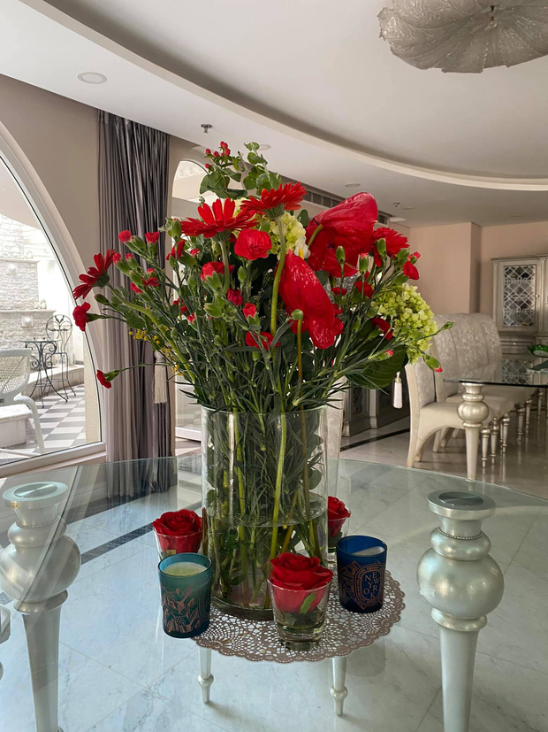 Chiêm ngưỡng biệt thự của Hoa hậu Giáng My: Sang chảnh như cung điện, phòng khách có sức chứa cả trăm người - Ảnh 6.