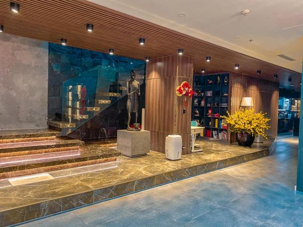 Penthouse ở Vinhomes trang trí Tết: Tổng hết 60 triệu, phòng khách xịn đến mức ngỡ sảnh khách sạn 5 sao - Ảnh 4.