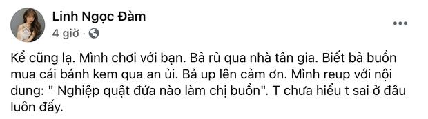 Linh Ngọc Đàm lên ngôi bánh tráng làng streamer: Phát ngôn rồi lật nhoay nhoáy, tham dự không trượt drama nào - Ảnh 4.