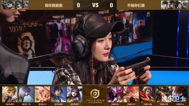 Dương Mịch khoe nhan sắc cực xinh đẹp, hút hồn cả làng game khi tham gia giải đấu Liên Quân Mobile bản Trung - Ảnh 5.