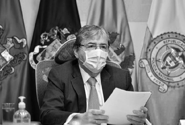 Bộ trưởng Quốc phòng Colombia qua đời vì COVID-19 - Ảnh 1.