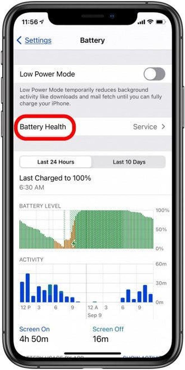 Xem iOS 14 gợi ý khôi phục pin ở đâu? - Ảnh 1.