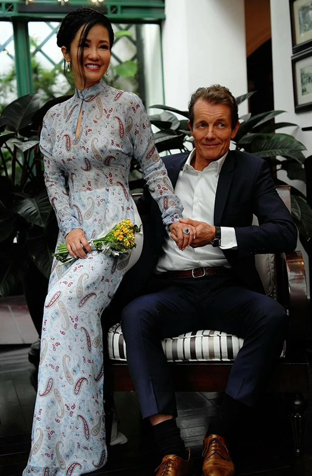 Đám cưới con gái Thanh Lam: Hồng Nhung công khai sánh đôi bên bạn trai ngoại quốc, Mỹ Linh và dàn sao góp mặt - Ảnh 3.