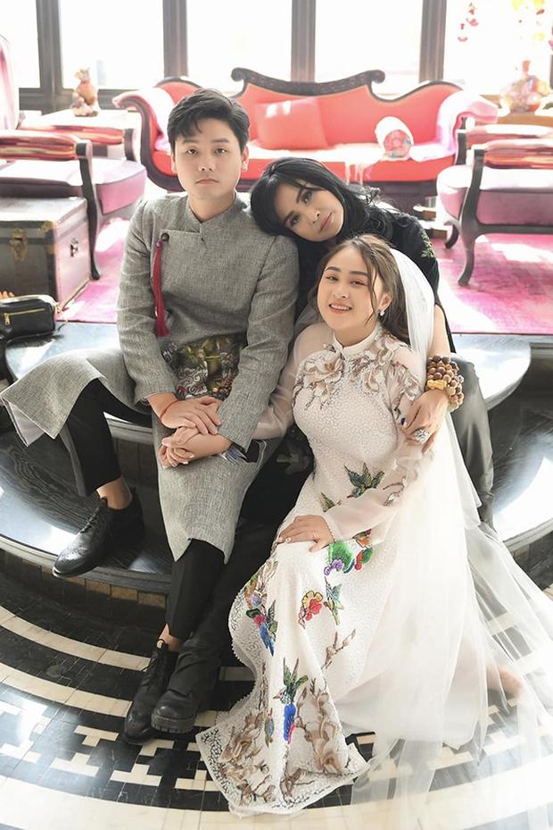 Đám cưới con gái Thanh Lam: Hồng Nhung công khai sánh đôi bên bạn trai ngoại quốc, Mỹ Linh và dàn sao góp mặt - Ảnh 7.