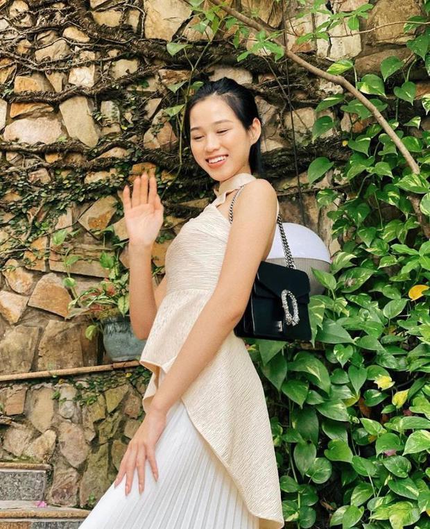 Xem ảnh Hoa hậu Đỗ Thị Hà đeo túi Gucci, lẽ nào công chúng sẽ có ví dụ mới về vấn nạn dìm hàng hiệu? - Ảnh 3.