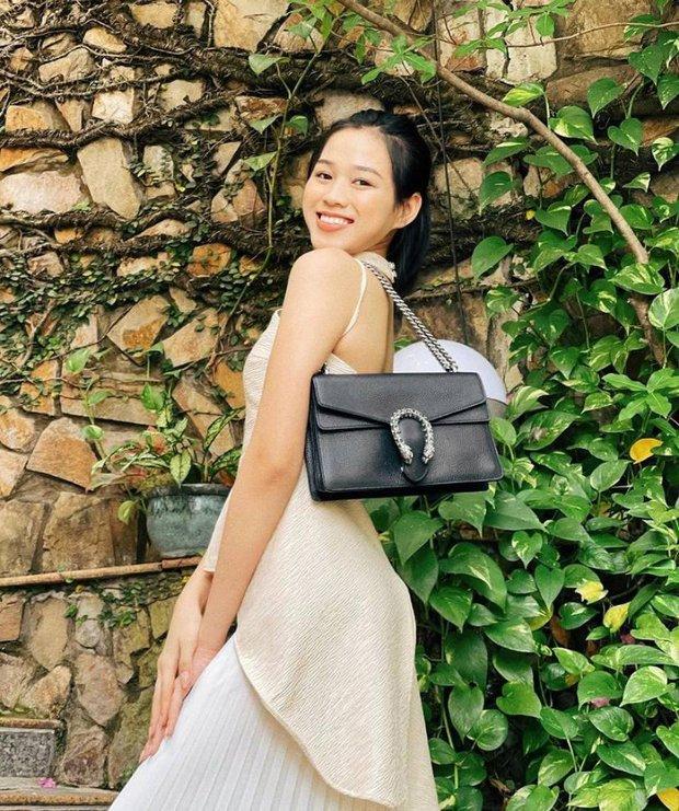 Xem ảnh Hoa hậu Đỗ Thị Hà đeo túi Gucci, lẽ nào công chúng sẽ có ví dụ mới về vấn nạn dìm hàng hiệu? - Ảnh 2.