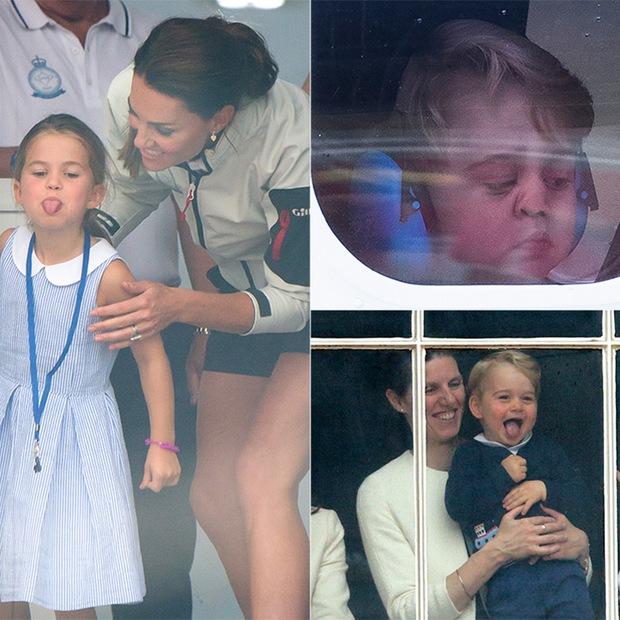 """Những khoảnh khắc """"cưng xỉu"""" của các em bé Hoàng tộc khắp thế giới, mang danh Hoàng tử Công chúa thì vẫn là trẻ nhỏ vô tư và cực lầy - Ảnh 7."""