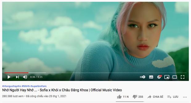 Sau 24 giờ lên sóng, MV debut của gà cưng Châu Đăng Khoa chỉ đạt hơn 280 nghìn view nhưng nhận được phản ứng rất tích cực - Ảnh 3.