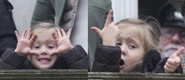 """Những khoảnh khắc """"cưng xỉu"""" của các em bé Hoàng tộc khắp thế giới, mang danh Hoàng tử Công chúa thì vẫn là trẻ nhỏ vô tư và cực lầy - Ảnh 12."""