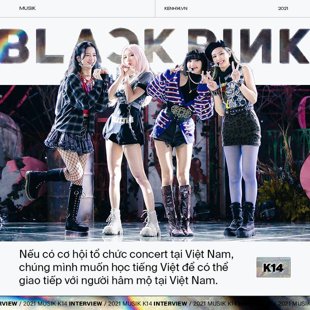 BLACKPINK: Nếu có cơ hội tổ chức concert tại Việt Nam, chúng mình muốn học tiếng Việt để có thể giao tiếp với fan - Ảnh 7.