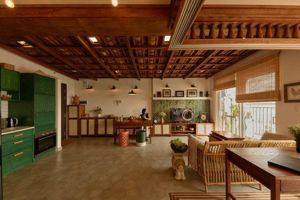 Lấy vợ Việt Nam, chàng trai Canada thiết kế căn hộ đậm chất truyền thống, xứng đáng điểm 10 cho sự tinh tế - Ảnh 1.