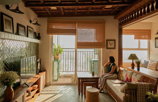 Lấy vợ Việt Nam, chàng trai Canada thiết kế căn hộ đậm chất truyền thống, xứng đáng điểm 10 cho sự tinh tế - Ảnh 2.