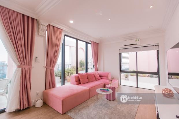 Quỳnh Anh Shyn lần đầu khoe penthouse 7 tỷ, mê nhất là ban công và phòng tắm đẹp như set chụp hình tạp chí - Ảnh 3.