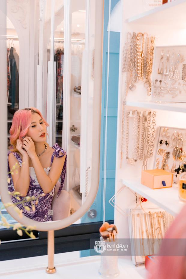 Quỳnh Anh Shyn lần đầu khoe penthouse 7 tỷ, mê nhất là ban công và phòng tắm đẹp như set chụp hình tạp chí - Ảnh 9.