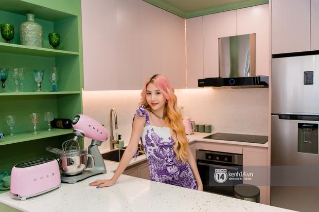 Quỳnh Anh Shyn lần đầu khoe penthouse 7 tỷ, mê nhất là ban công và phòng tắm đẹp như set chụp hình tạp chí - Ảnh 5.