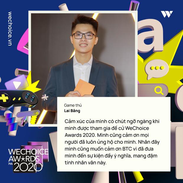 Nghe những gương mặt đình đám của làng game Việt trải lòng về WeChoice Awards 2020 - Ảnh 9.