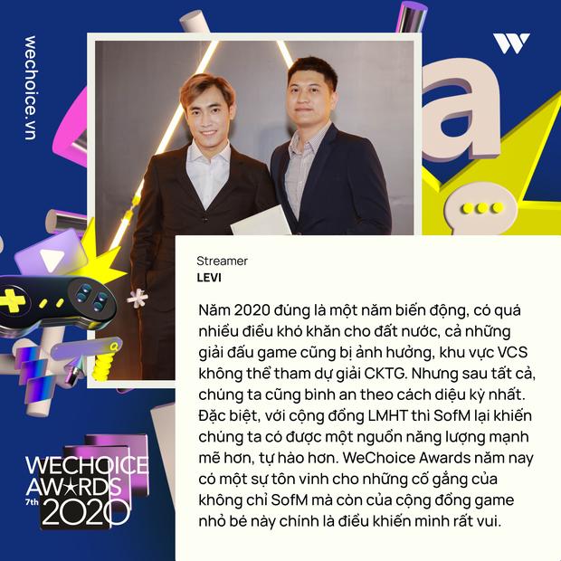 Nghe những gương mặt đình đám của làng game Việt trải lòng về WeChoice Awards 2020 - Ảnh 10.