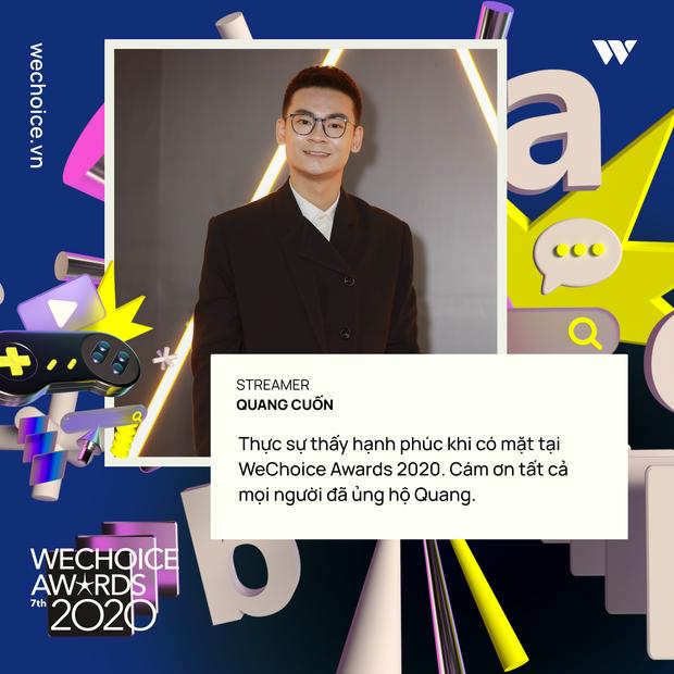 Nghe những gương mặt đình đám của làng game Việt trải lòng về WeChoice Awards 2020 - Ảnh 3.