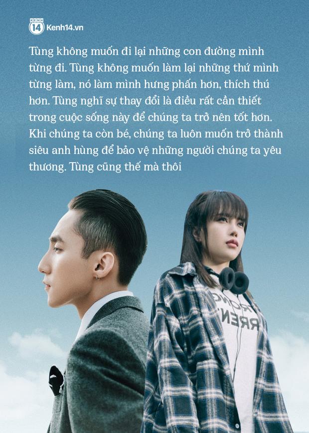 """Lộ diện giữa loạt drama, Sơn Tùng trải lòng: Tùng nghĩ thay đổi là điều rất cần thiết trong cuộc sống này để chúng ta trở nên tốt hơn"""" - Ảnh 3."""