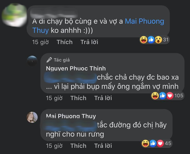 Noo Phước Thịnh bất ngờ dọa đánh người vì Mai Phương Thuý, đọc kỹ lại đoạn hội thoại mới thở phào! - Ảnh 2.