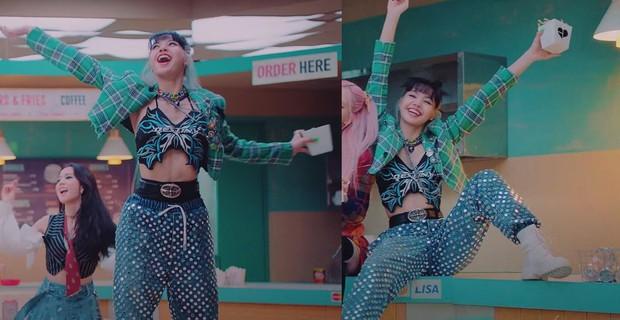 Cùng một chiếc áo: Ngọc Trinh hở bạo khiến netizen đỏ mặt, nhìn sang Lisa thấy chất ngầu, level khác hẳn - Ảnh 6.
