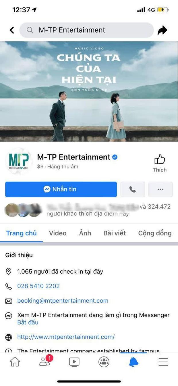 Vì sao Fanpage M-TP Entertainment của Sơn Tùng có nguy cơ bị xoá dù đã được tick xanh và sở hữu lượt like khổng lồ? - Ảnh 1.