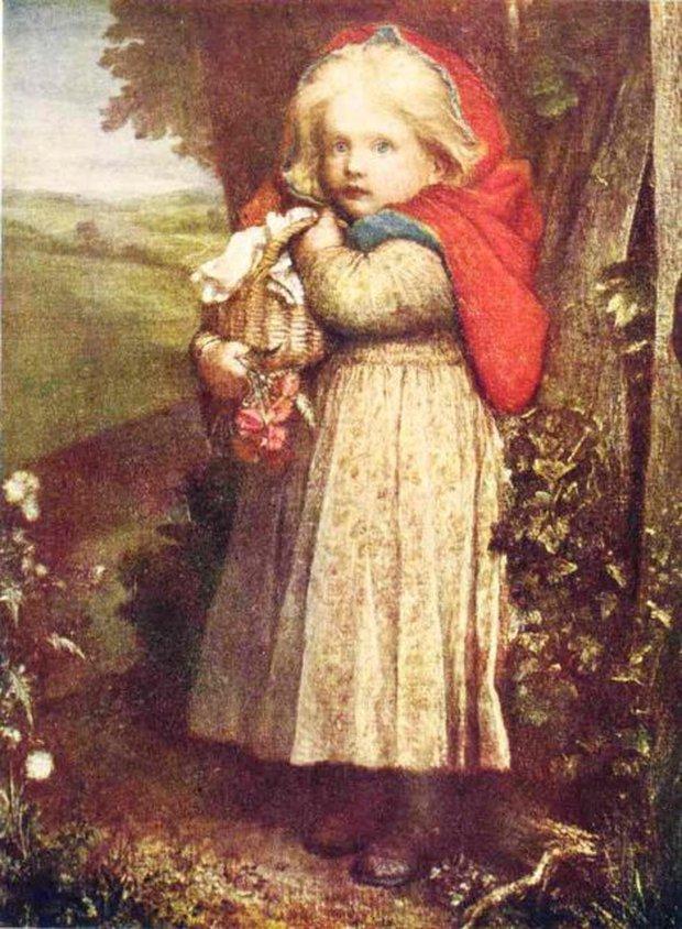 Nguyên bản truyện cổ tích Cô Bé Quàng Khăn Đỏ: Đầy yếu tố bạo lực và đen tối, còn có chi tiết rợn người hệt như trong Tấm Cám - Ảnh 1.
