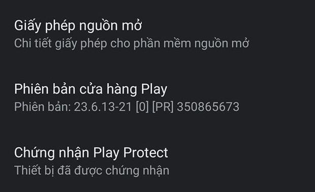 Cuối cùng, Bphone đã có chứng chỉ Google Play Protect - Ảnh 2.