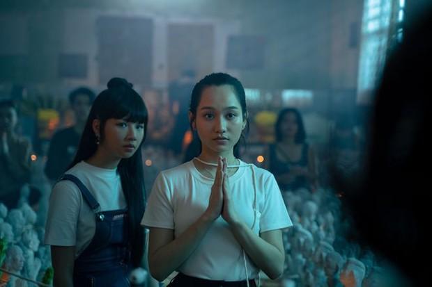 Orange hát, Salim nhảy, Trúc Anh bè nhưng Chi Pu thì bị giấu kỹ không thấy đâu trong OST phim kinh dị bùa ngải Thiên Thần Hộ Mệnh - Ảnh 9.