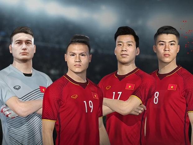Tin cực vui: Đội tuyển Việt Nam chính thức có mặt trong PES 2022 - Ảnh 1.