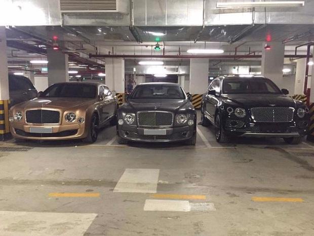 Choáng váng với dàn xe hơn 100 tỷ trong một hầm gửi xe ở Hà Nội - Ảnh 3.