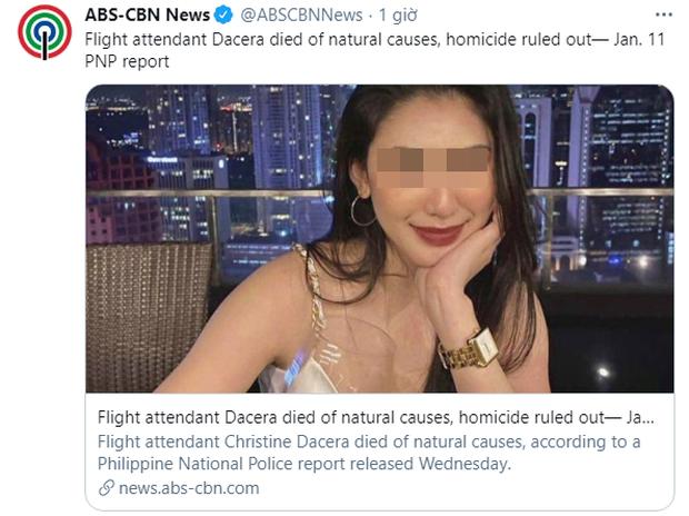Công bố báo cáo pháp y chính thức về nguyên nhân gây ra cái chết của Á hậu Philippines trong bữa tiệc giao thừa cùng 11 người đàn ông - Ảnh 3.