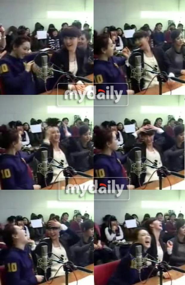 Diện tóc mái giả, Yoona từng bị hại ngượng chín mặt, đến Taeyeon cũng sững người vì bất ngờ - Ảnh 7.