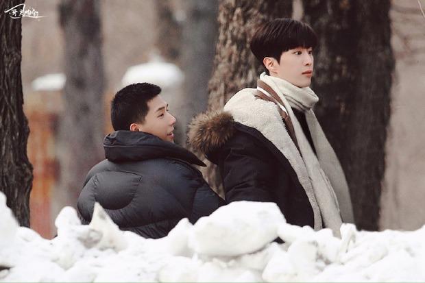 Bị đồn dẫn bạn gái lên phim trường đam mỹ, em trai Phạm Băng Băng lập tức đáp trả trấn an fan - Ảnh 9.