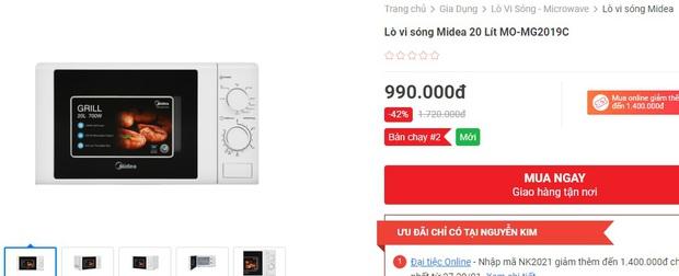 10 lò vi sóng đang sale 50%, loanh quanh 1 triệu là sắm được 1 chiếc xịn xò - Ảnh 5.