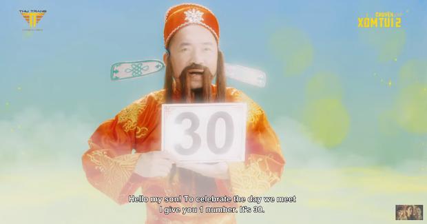 Thu Trang rủ cả xóm đóng Ròm ở Chuyện Xóm Tui 2 tập 1: Chơi đề đến tiền mất tật mang, bị ông thần Tiến Luật cười ha hả vào mặt! - Ảnh 7.