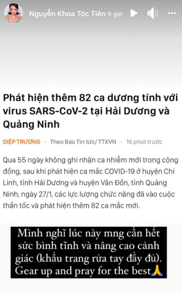 Trấn Thành kêu gọi đeo khẩu trang, NS Việt Hương - Xuân Bắc và cả Vbiz chung tay lan toả điều tích cực giữa dịch Covid-19 - Ảnh 6.